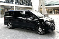 Arrival Private Transfer: Baltimore Airport BWI to Washington in Luxury Van