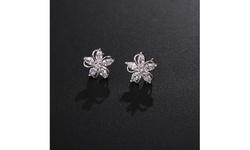 Children's 925 Sterling Silver Cute Crystal Stud Earrings