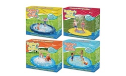 Summer Inflatable Water Sprinkler Kiddie Wading and Splash Mat - 54 and 65 inch