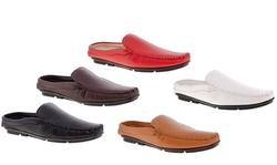 Franco Vanucci Men's Open Back Driving Shoes
