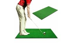 Indoor Golf Practice Grass Mat Backyard Training Hitting Golf Mat