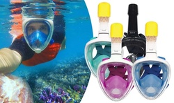 GoPro Full-Face Snorkel Mask with Camera Mount