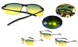 Tac Polarized HD Day Night Vision Glasses Aviator Men Driving Sports sunglasses