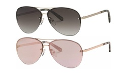 Banana Republic Brett Women's Rimless Aviator Sunglasses
