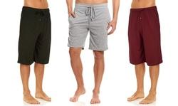 (3 Pack) DARESAY Mens Athletic Jersey Knit Shorts