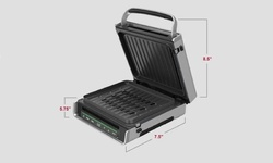 George Foreman Smokeless Digital Family Size Grill 29% Off at Home Depot