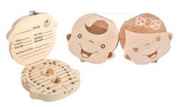 Wooden Keepsake Box For Baby Teeth