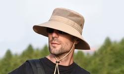 Leo Rosi Men/Women Summer UV Protection Waterproof Sun Hat