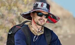 Leo Rosi Camouflage Sun Hat for Men/Women Summer UV Protection Waterproof