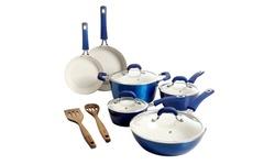 Kenmore 12 Pieces Ceramic Non Stick Cookware Set