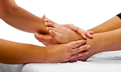 Chinese Foot Reflexology with Foot Soak or Qi BackRub at Hu's Pain Management & Wellness Center (Up to 55% Off)
