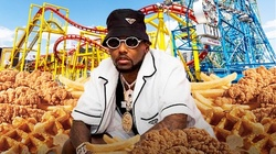 Fabolous with Chicken n Waffles on September 26