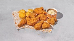 $6 for $10 Toward Fried Chicken, Biscuits, and Drinks for Dine-in and Takeout at Popeyes