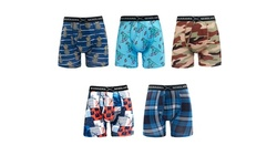 Warriors & Scholars Men's Trunk Cut Underwear - 5 Pack