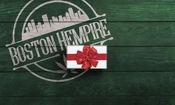 1 Year Gold Card Membership card or $25 Gift Card from Boston Hempire