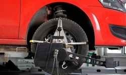 $79.99 for Four-Wheel Alignment at Tire Super Center ($109.99 Value)