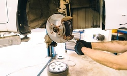 Front and/or Rear Brake Pad Replacement, or Credit Toward Mechanic Work at Joselo's Auto Service (Up to 75% Off)