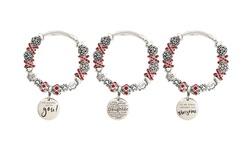 Kids' XO Inspirational Charmed Bracelet By Pink Box