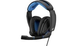 Sennheiser EPOS Noise-Canceling Gaming Headset, GSP 300 Black/Blue (Refurbished)