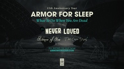 Armor For Sleep on Saturday, October 30 at 8 p.m.