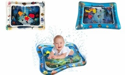 Baby Water Mat Tummy time Toys Inflatable Play Mat Water Cushion Crawling Mat