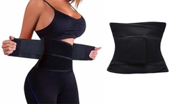 Women Underbust Slimming Sauna Waist Trainer Belt Cincher Corset