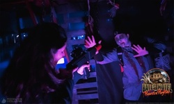 Zombie Hunt Laser Tag for One, Two, Four, or Six at Bates Motel and Haunted Hayride (Up to 40% Off)