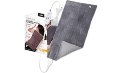 Calming Heat Weighted Electric Heating pad w/ Massaging Vibrations-New(Open Box)