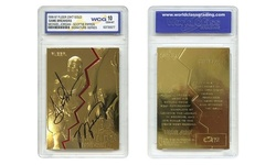 1996-97 JORDAN PIPPEN FLEER Game Breakers 23K GOLD CARD Gem Mint 10