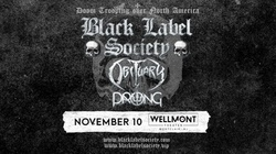 Black Label Society: Doom Trooping Over North America on November 10 at 6:30 p.m.