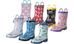 Nomad Footwear Kid's Rain Boot with Pull Loops