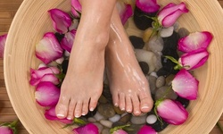 Up to 35% Off on Nail Spa/Salon - Pedicure at Foxy Images Beauty Bar
