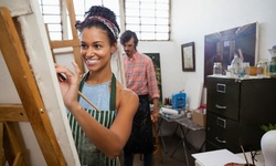 $130 for Paint & Chill Class for Two at Royal Dynasty Events $175 Value)
