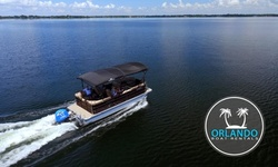 Half- or Full-Day Pontoon Boat Rental at Orlando Boat Rentals (Up to 25% Off). Eight Options Available.