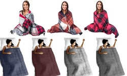 Reversible Printed Anti-Anxiety Therapeutic Weighted Throw Blanket