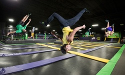 Jump Pass at Get Air Trampoline Park (Up to 15% Off). Four Options Available.