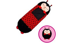 """Happy Nappers Pillow & Sleepy Sack Comfy, Cozy, Compact, Large 66"""" x 30"""" - New"""