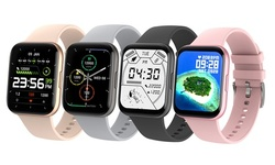 P25 Smart Watch Fitness Tracker Pedometer IP68 Waterproof Sport Watch for Phones
