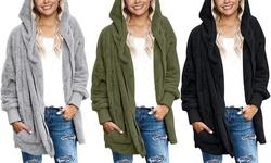 Leo Rosi Women's Karen Ultra-Soft Sherpa Cardigan (S-2X)
