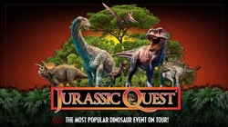 Jurassic Quest at Huntington Convention Center (Indoor Event, December 3–5)