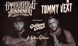 Tommy Vext and Struggle Jennings on November 7 at 6 p.m.