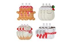 Holiday Treats Facial Masks Christmas Masks 12 pack Assorted