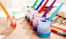 Three-Hour Art Class at K.B.R Events (Up to 42% Off). Three Options Available.