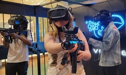 One VR Game for Two, Three, or Four or Two-Hour Party Package at VR Nite (Up to 33% Off)