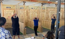 Indoor Axe Throwing Experience for Two, Three, Four, Five, or Six at Texas Lumberjaxe (Up to 39% Off)