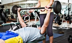 One-Hour Personal-Training Session or One-Month Unlimited Gym Membership at Fitness World (Up to 77% Off)