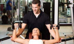One- or Two-Month Gym Membership with Personal-Training Sessions at Fitness 19 (Up to 67% Off)