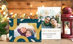 Double-Sided Holiday Cards or Invitations from Staples (Up to 59% Off). Available for Same-Day Pickup.