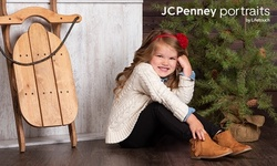 """Photography Shoot Package with Optional 10""""x20"""" Canvas Print at JCPenney Portraits by Lifetouch (Up to 86%)"""
