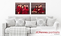 Professional In-Studio Photo Shoot and Canvas Print at JCPenney Portraits (Up to 85% Off)